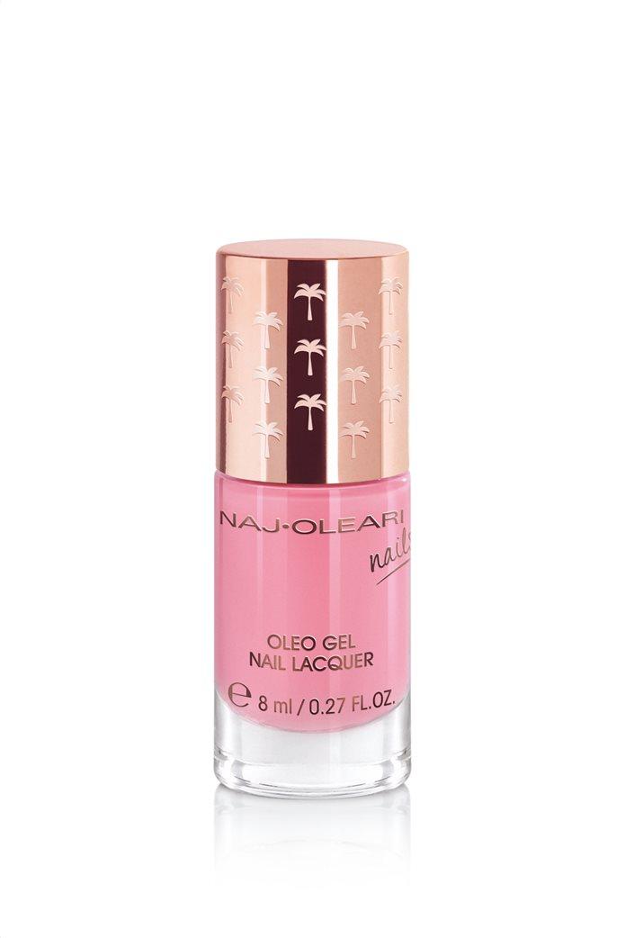 Naj-Oleari Oleo Gel Nail Lacquer 13 Water Lily Pink 8 ml 0