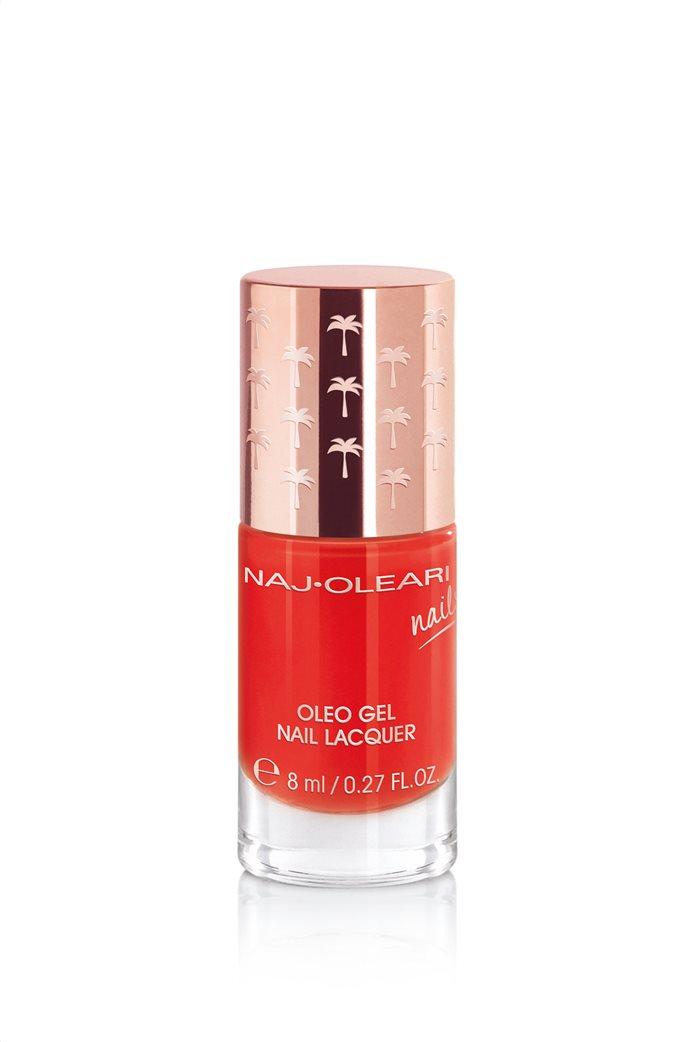 Naj-Oleari Oleo Gel Nail Lacquer 20 Coral Red 8 ml 0