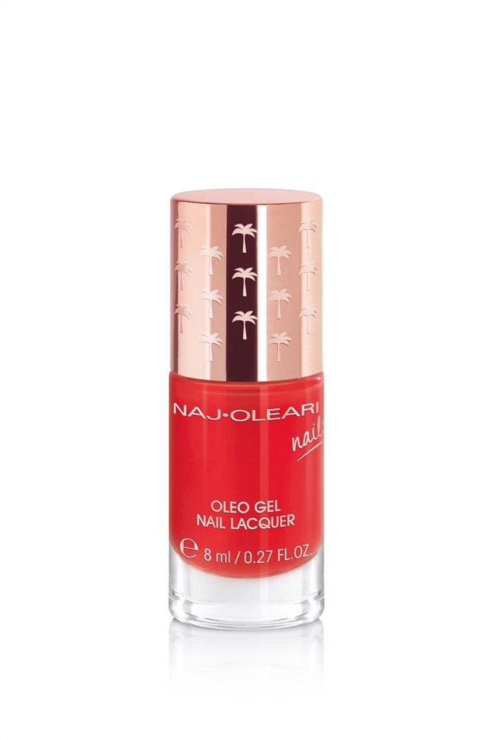 Naj-Oleari Oleo Gel Nail Lacquer 21 Poppy Red 8 ml 0