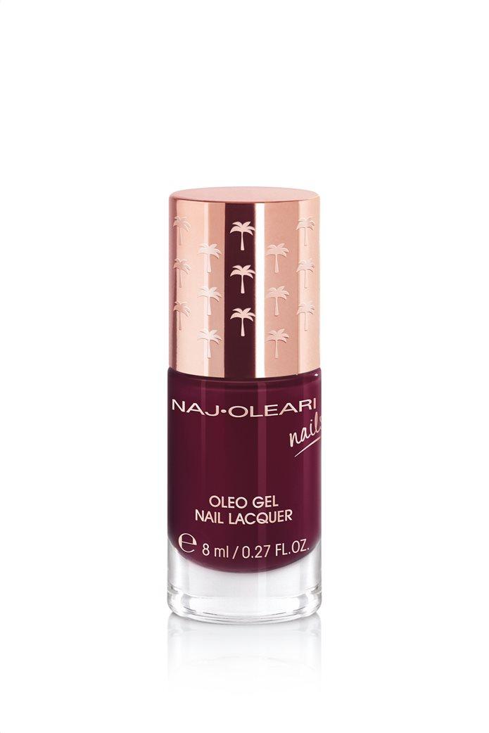 Naj-Oleari Oleo Gel Nail Lacquer 25 Black Red 8 ml 0