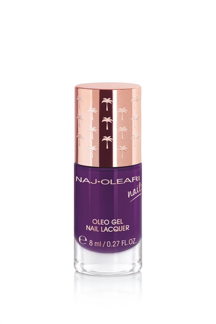 Naj-Oleari Oleo Gel Nail Lacquer 28 Eggplant Purple 8 ml 0