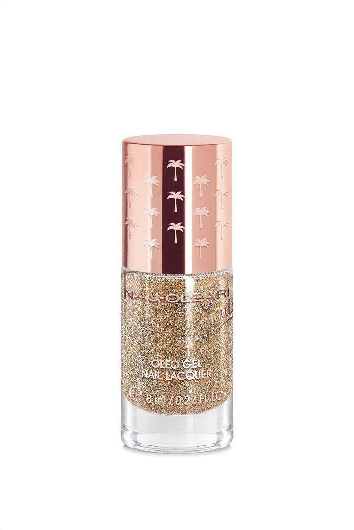 Naj-Oleari Oleo Gel Nail Lacquer 33 Glimmering Gold 8 ml 0