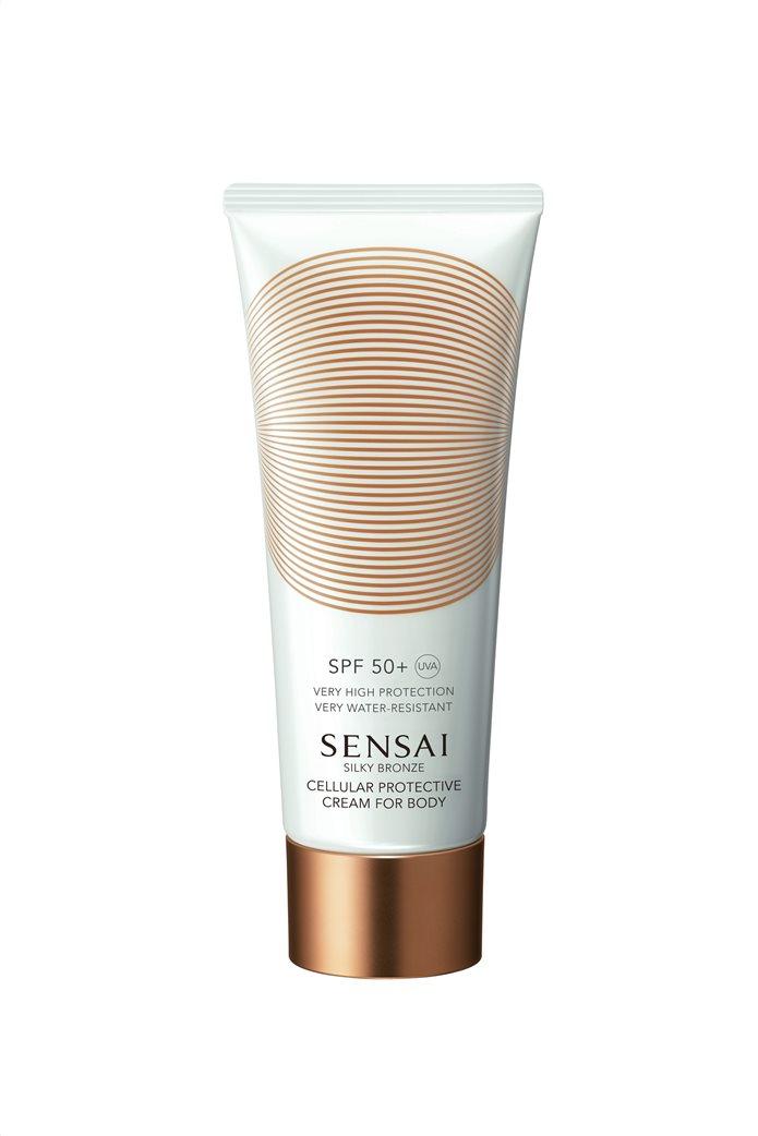 Sensai Silky Bronze Cellular Protective Cream For Body SPF50+ 150 ml  0