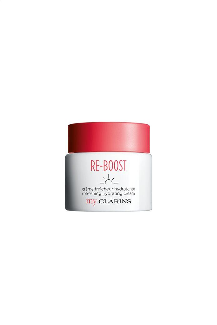 Clarins RE-BOOST Refreshing Hydrating Cream για κανονικό δέρμα 50 ml  0