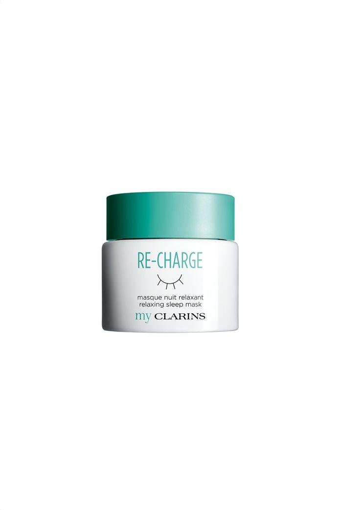 Clarins RE-CHARGE Relaxing Sleep Mask για όλους τους τύπους δέρματος 50 ml 0