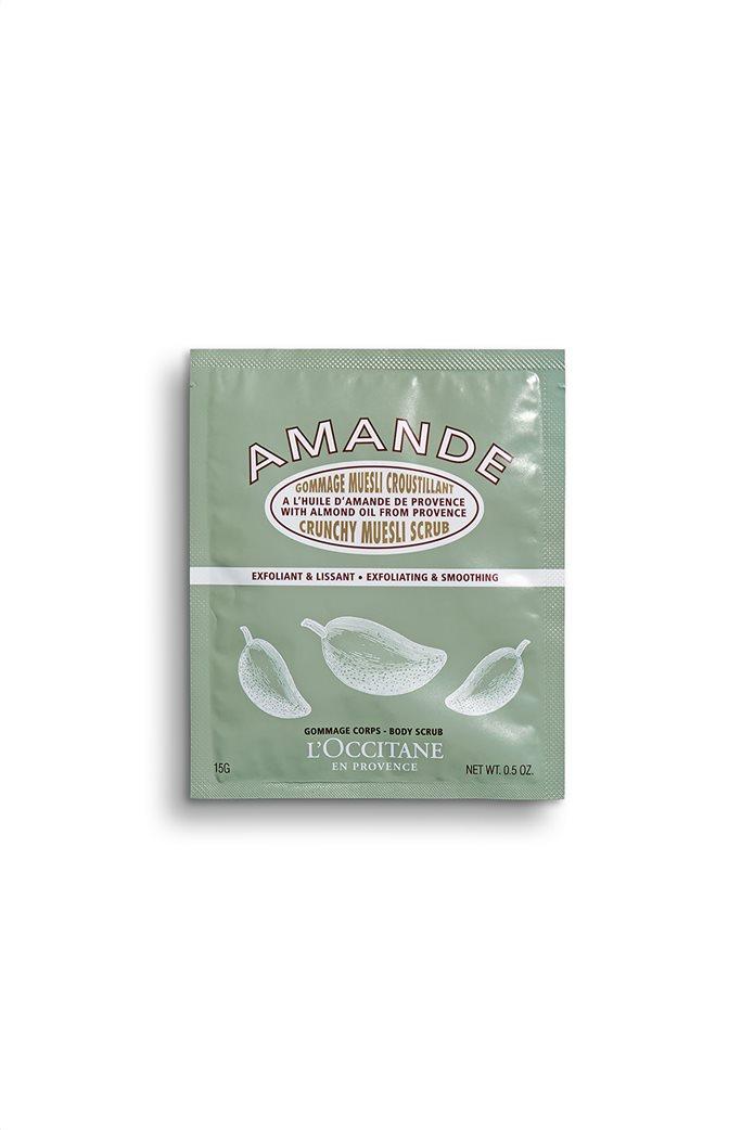L'Occitane Almond Crunchy Muesli Scrub 15 gr  0