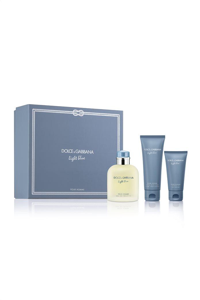 Dolce & Gabbana Light Blue Pour Homme Eau de Toilette 125 ml & After Shave Balm 75 ml & Shower Gel 50 ml 0