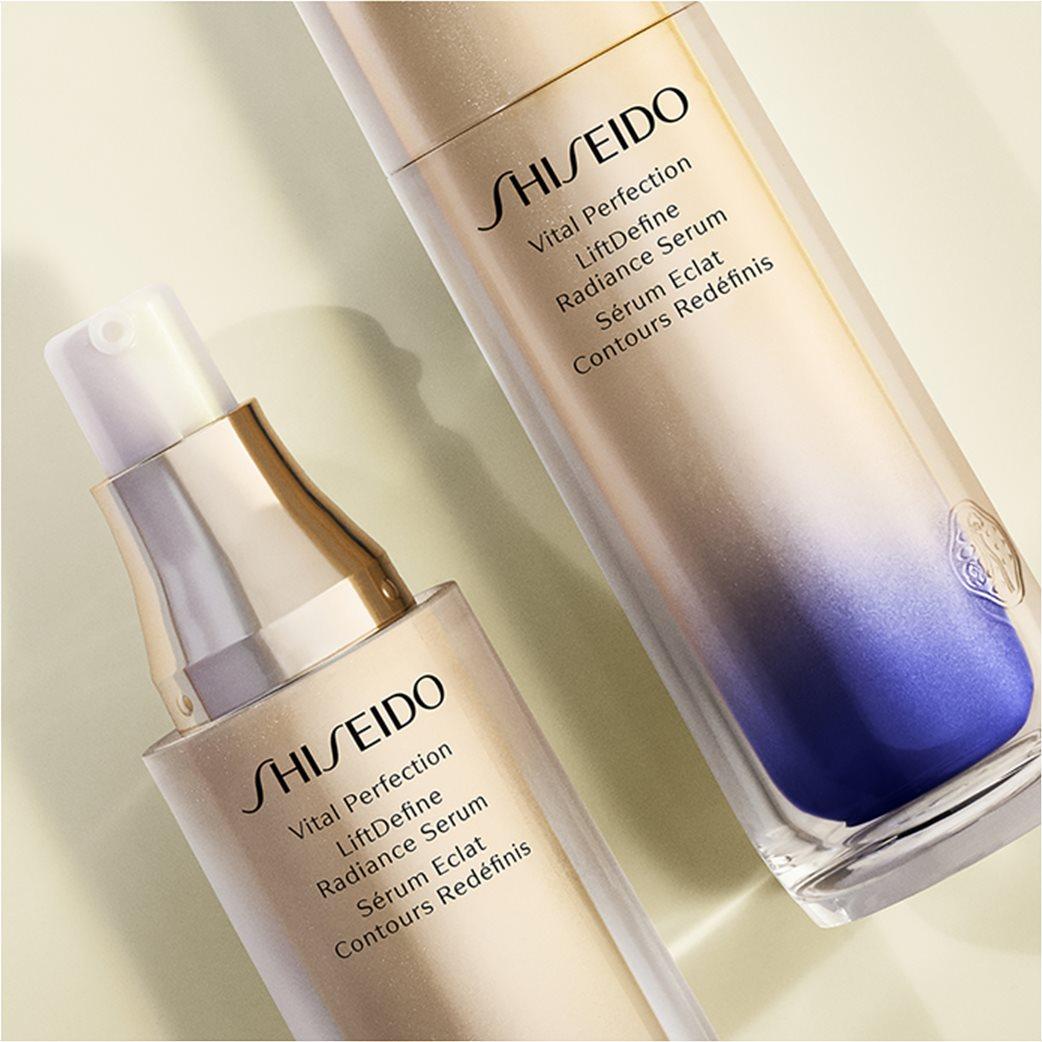 Shiseido Vital Perfection Liftdefine Radiance Serum 40 ml 4