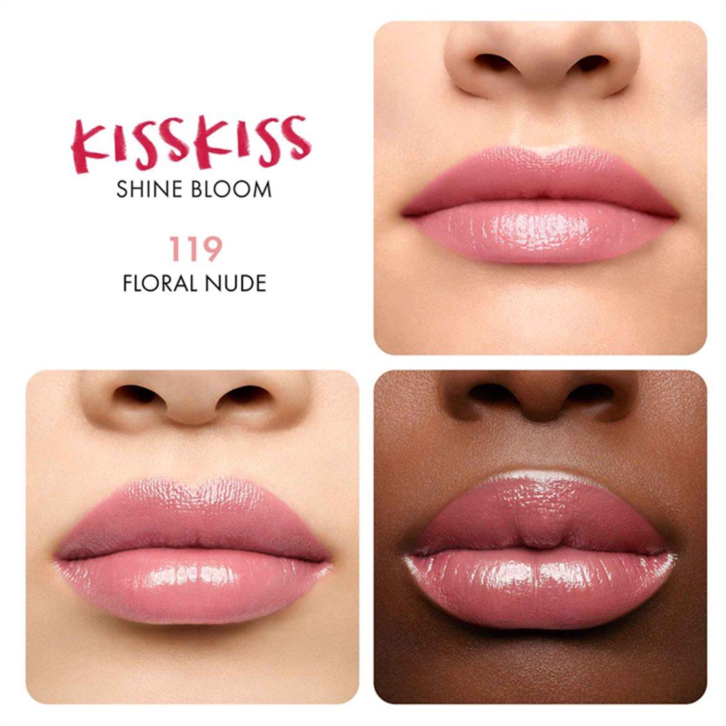 Guerlain KissKiss Shine Bloom 119 Floral Nude  3