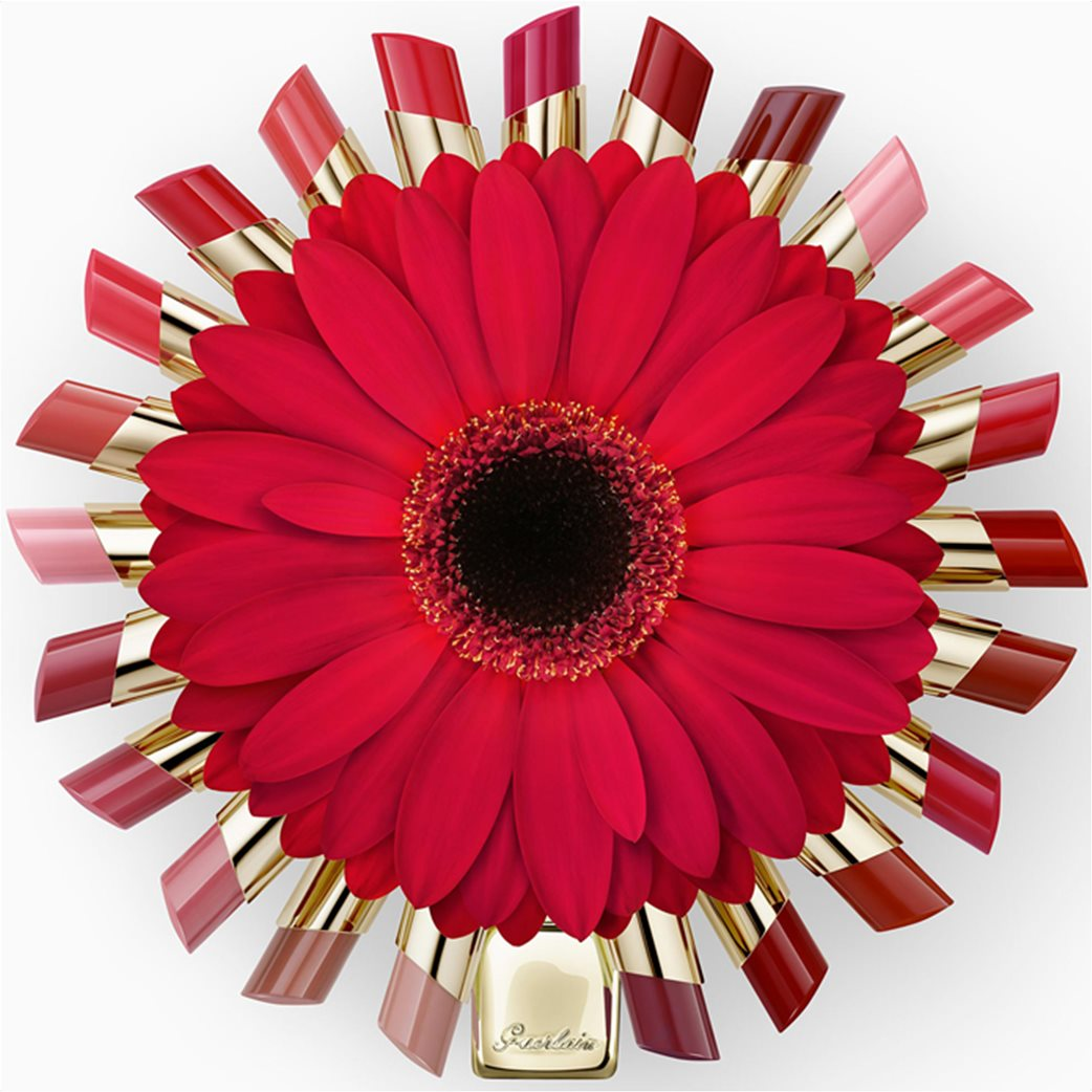 Guerlain KissKiss Shine Bloom 129 Blossom Kiss  6