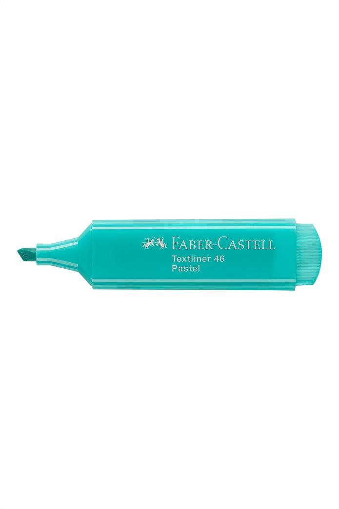 Faber-Castell Υπογραμμιστής 1546 Παστέλ Πετρόλ 1