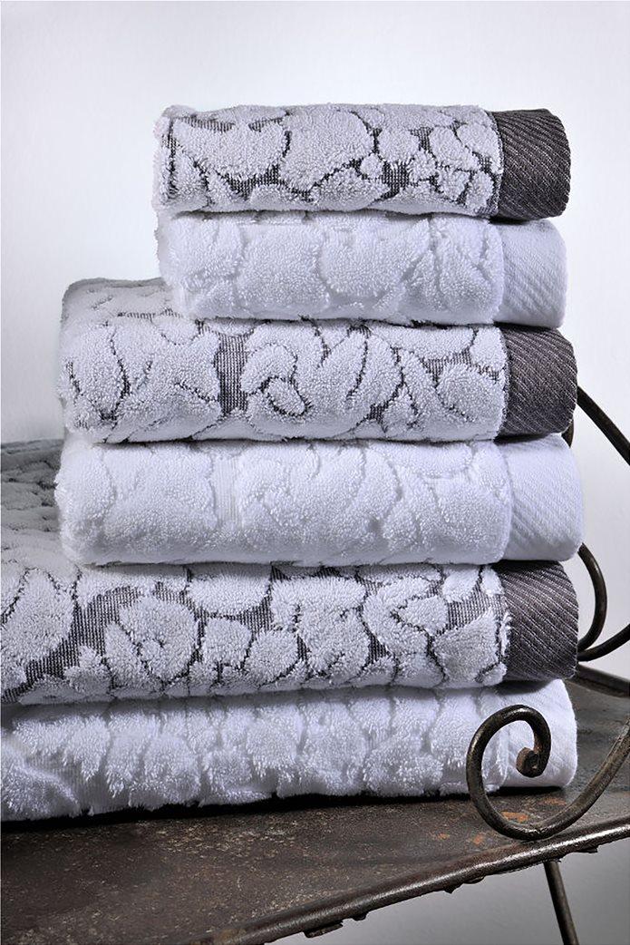 DOWN TOWN Home Σετ πετσέτες μπάνιου Classic 650 Λευκό (3 τεμάχια)   0