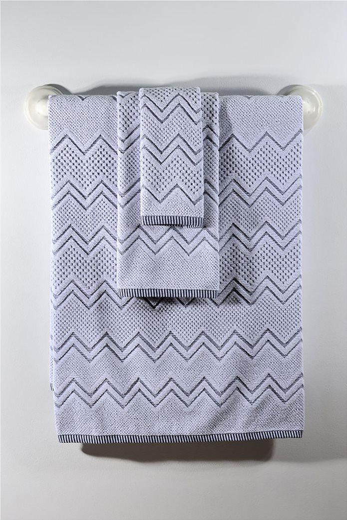 DOWN TOWN Home Σετ πετσέτες μπάνιου Classic 550 Waves (3 τεμάχια)   0