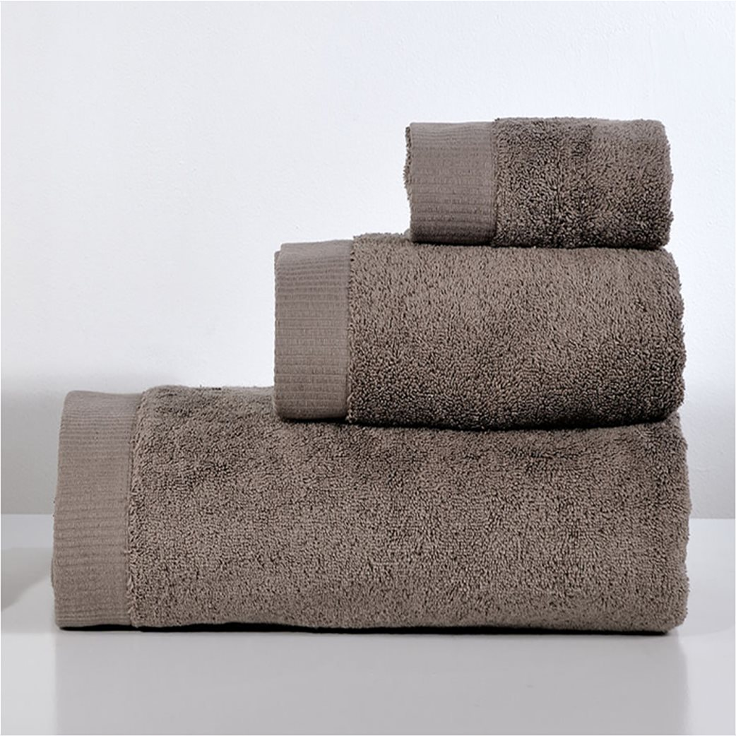 DOWN TOWN Home Πετσέτα προσώπου Lotus Linen (50x90)   1