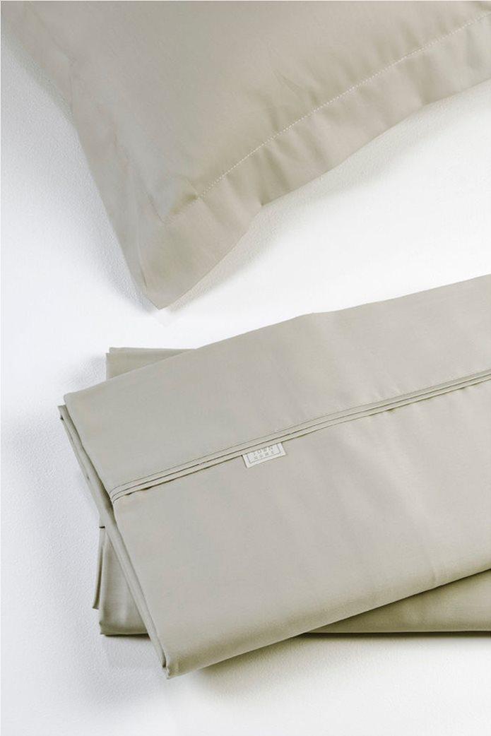 "DOWN TOWN Home Σετ μαξιλαροθήκες για μαξιλάρια ύπνου με διπλό ρέλι ""S39"" 52 x 75 cm Μπεζ 0"