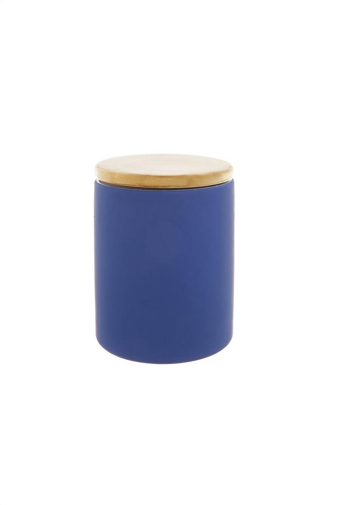 Coincasa κεραμικό διακοσμητικό κουτί με καπάκι 16 x 12 cm Μπλε 0