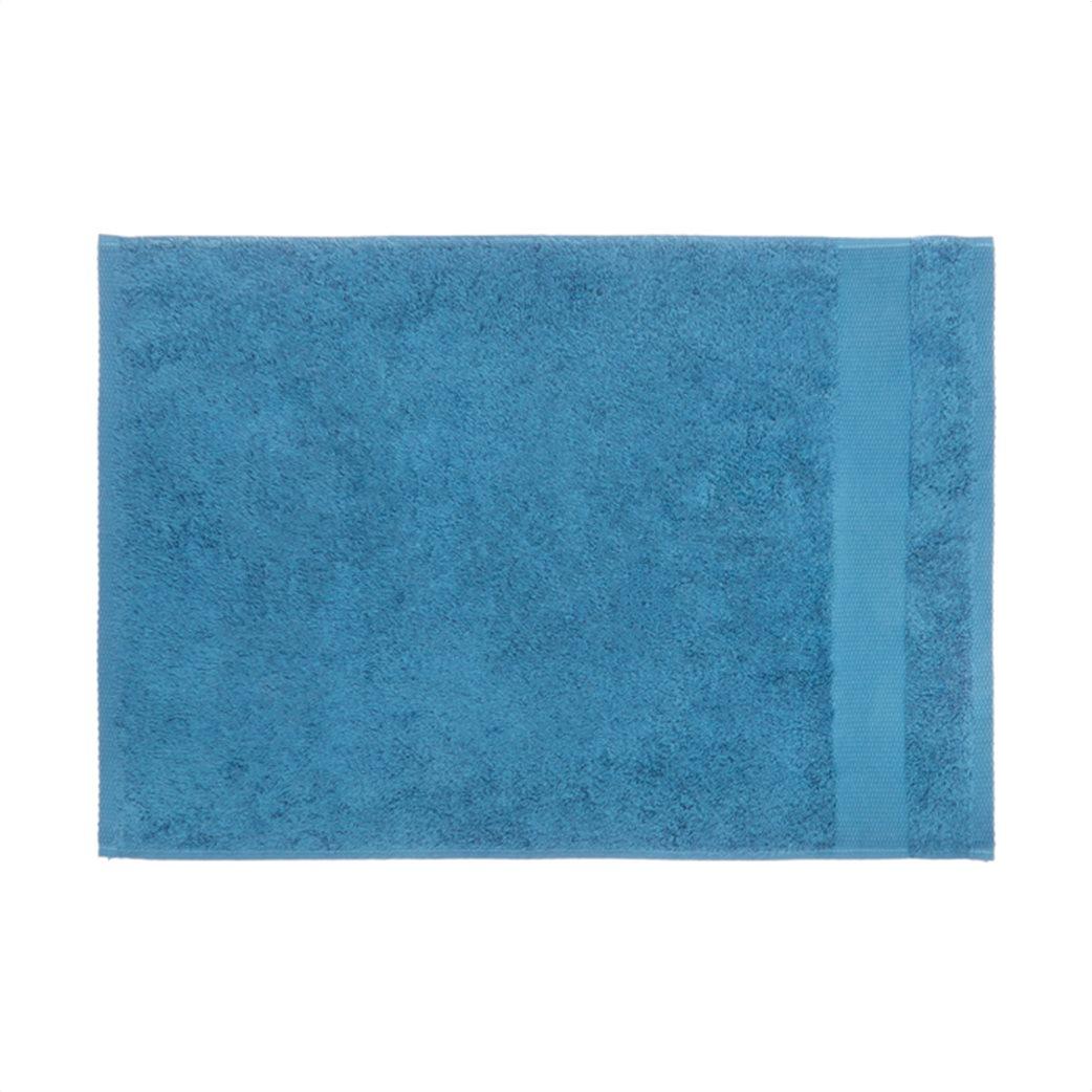 Coincasa πετσέτα μπάνιου μονόχρωμη 140 x 70 cm Μπλε 1