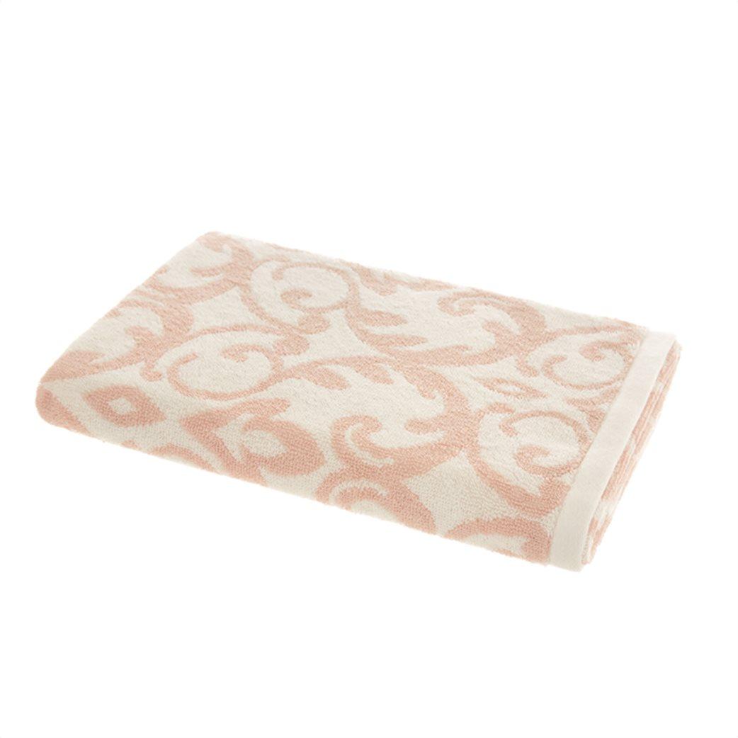 Coincasa πετσέτα μπάνιου με damask motif 150 x 90 cm 1