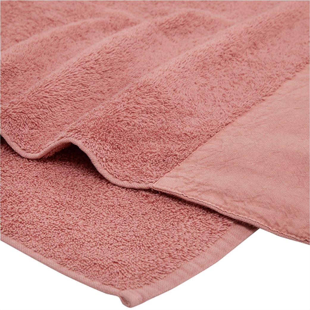 Coincasa πετσέτα μπάνιου από βιολογικό βαμβάκι με λινό τελείωμα  140 x 70 cm 1