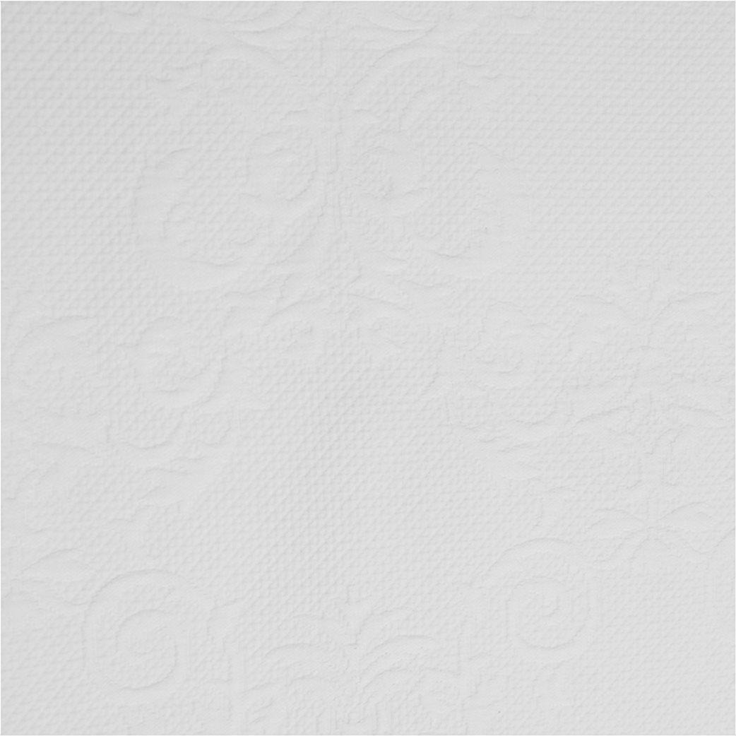 Coincasa βαμβακερό κουβερλί με floral ανάγλυφο σχέδιο 260 x 260 cm 1