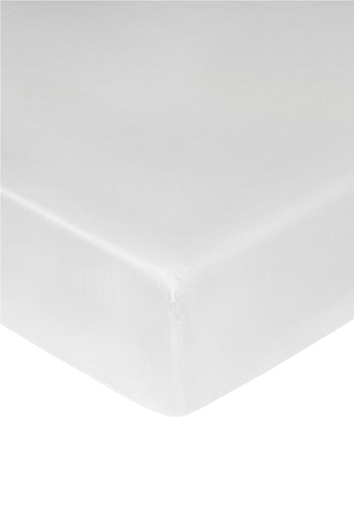 Coincasa σεντόνι μονόχρωμο με λάστιχο 180 x 210 cm 0