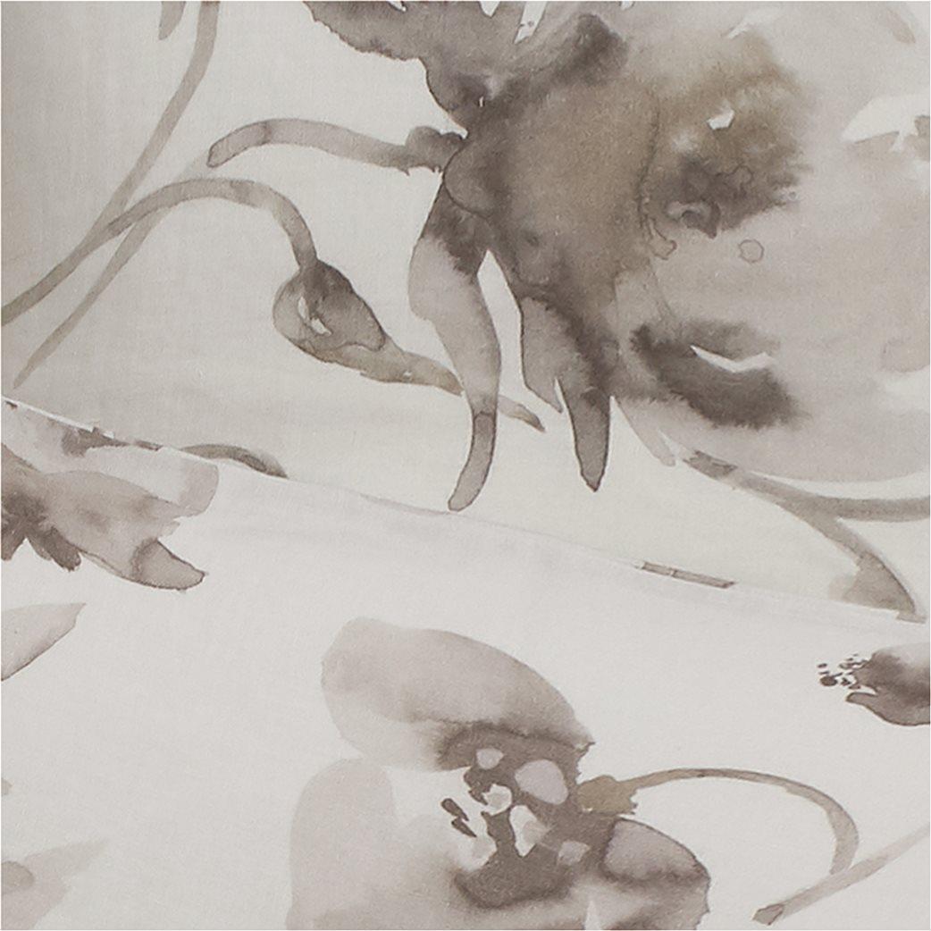Coincasa λινή παπλωματοθήκη με floral print  220 x 240 cm 1