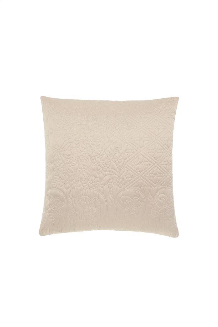 Coincasa διακοσμητικό μαξιλάρι καπιτονέ 50 x 50 cm Μπεζ 0