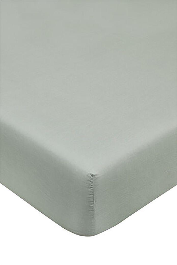 Coincasa διπλό σεντόνι μονόχρωμο 160 x 200 cm 0