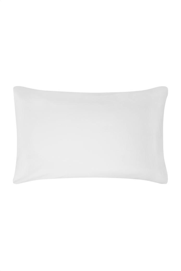 Coincasa μονόχρωμη μαξιλαροθήκη 80 x 50 cm Λευκό 0