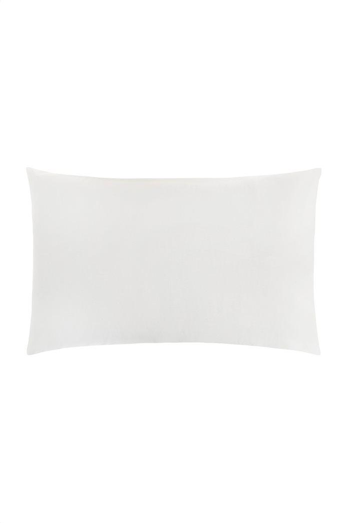 Coincasa μαξιλαροθήκη μονόχρωμη 50 x 80 cm Λευκό 0