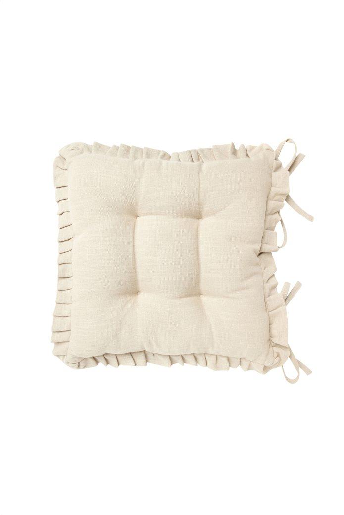 Μαξιλάρι καρέκλας με βολάν 40x40 Coincasa 0
