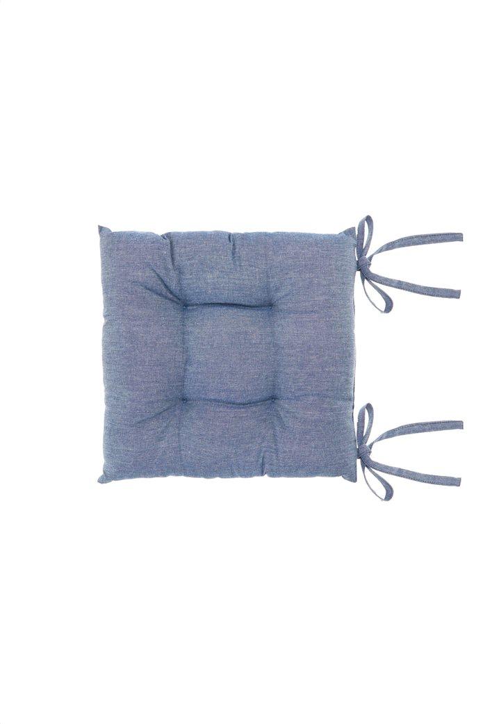 Μαξιλάρι καρέκλας μπλε 40 χ 40 cm Coincasa 0