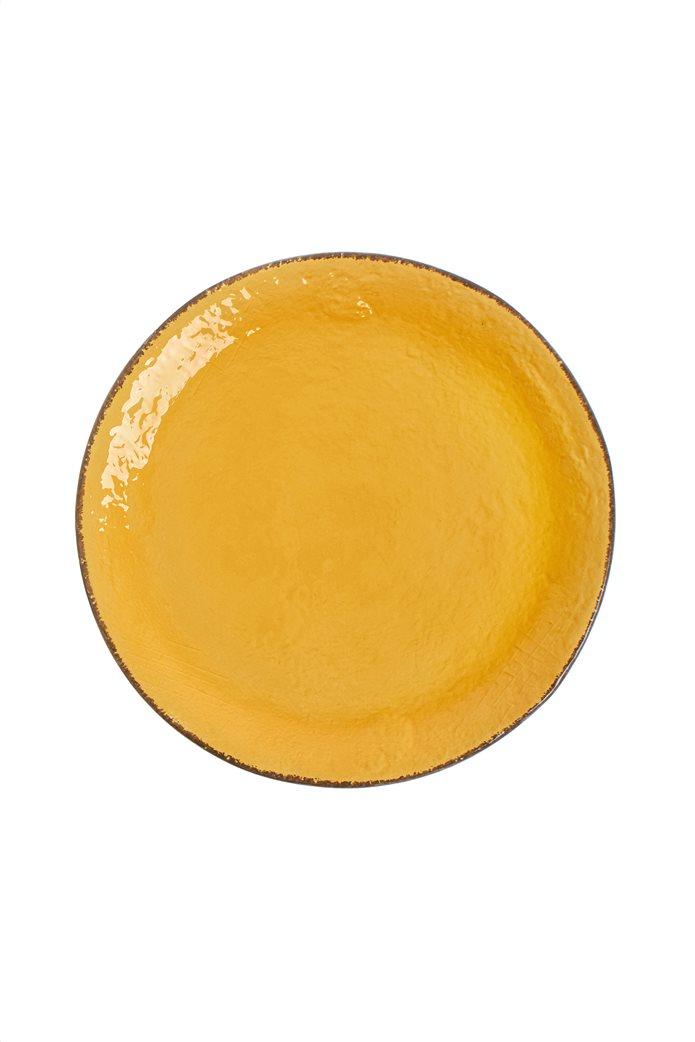 Coincasa χειροποίητο κεραμικό πιάτο χρωματιστό 31 cm 0