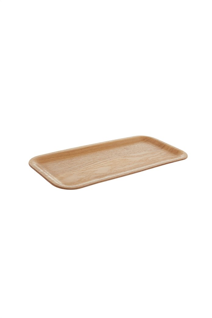 Coincasa διακοσμητικός ξύλινος δίσκος 15 x 34 cm 0