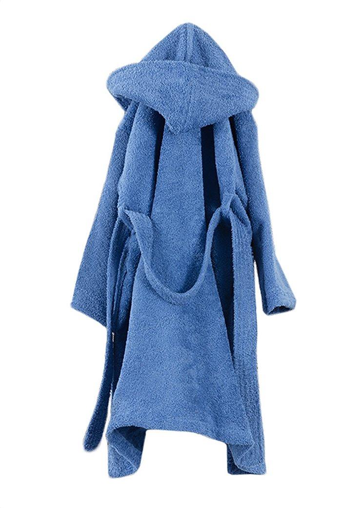 Guy Laroche παιδικό μπουρνούζι με κουκούλα ''Tender Blue'' (10-12 ετών) Μπλε 0