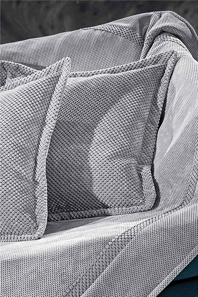 Guy Laroche διακοσμητική μαξιλαροθήκη ''Rubicon Grey'' 42 x 42 cm Γκρι Γαλάζιο 0