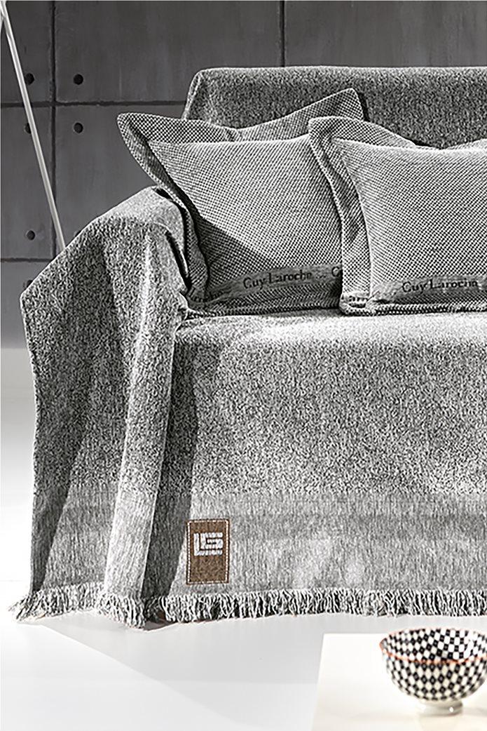 Guy Laroche ριχτάρι πολυθρόνας μονόχρωμο ''Balance Silver'' 150 x 170 cm 0