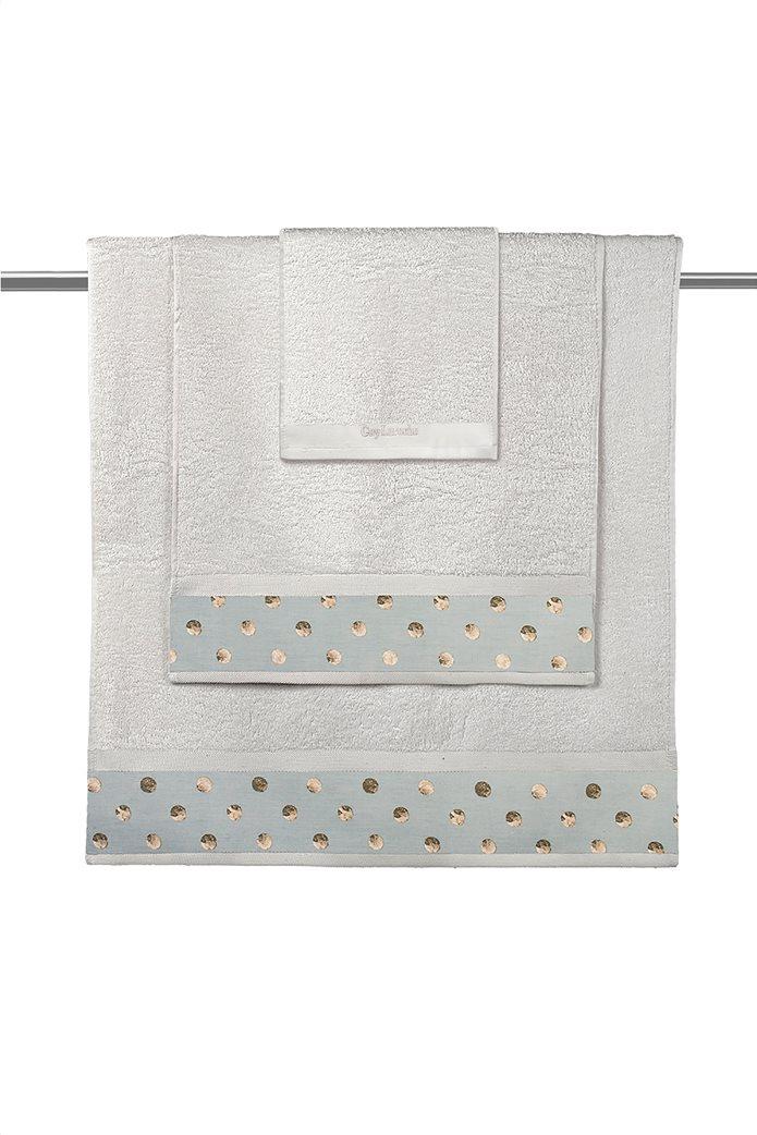 Guy Laroche σετ πετσέτες μπάνιου με print ''Oriana Natural'' (3 τεμάχια) 0
