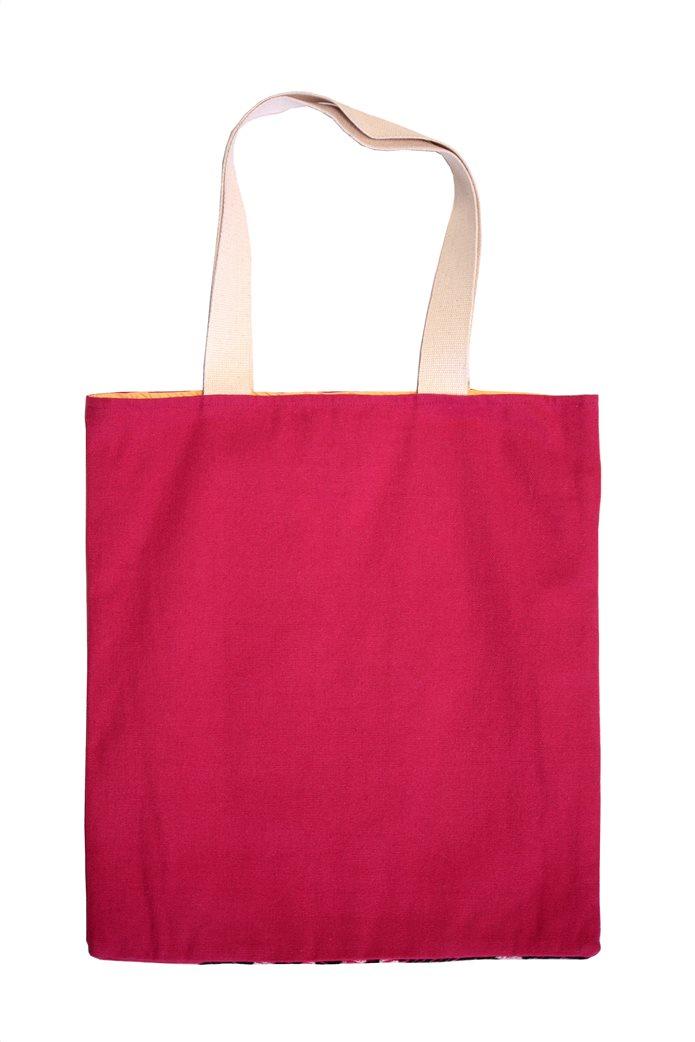 Synchronia γυναικεία τσάντα ώμου με κεντημένο σχέδιο γάτα 2