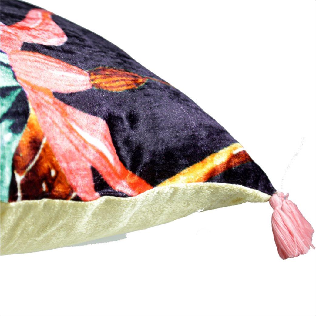 Synchronia διακοσμητικό βελούδινο μαξιλάρι κολίμπρι 50 x 50 cm 6