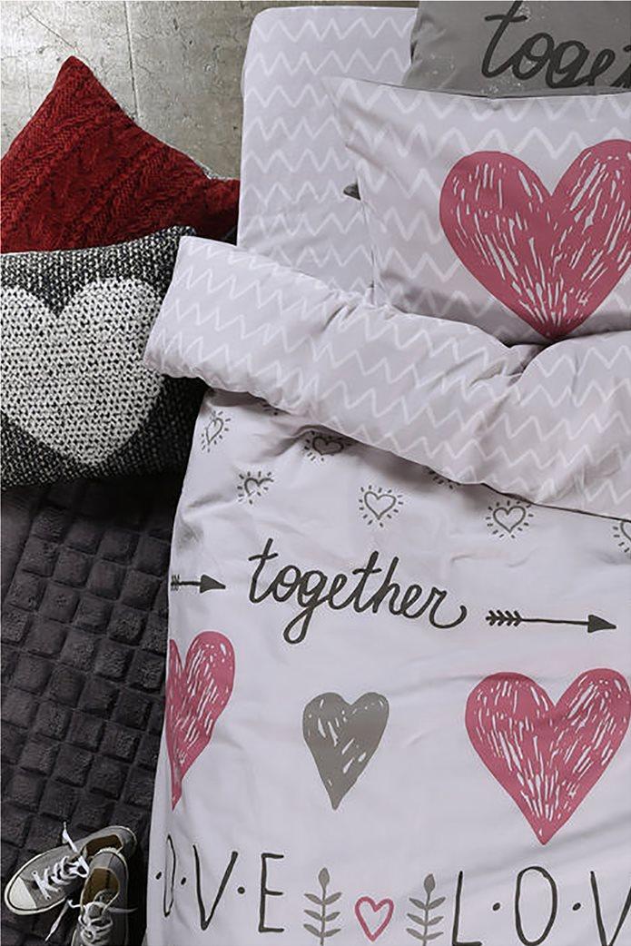 1c90c10647 NEF-NEF Σετ παιδικά σεντόνια Love Together (3 τεμάχια) 0