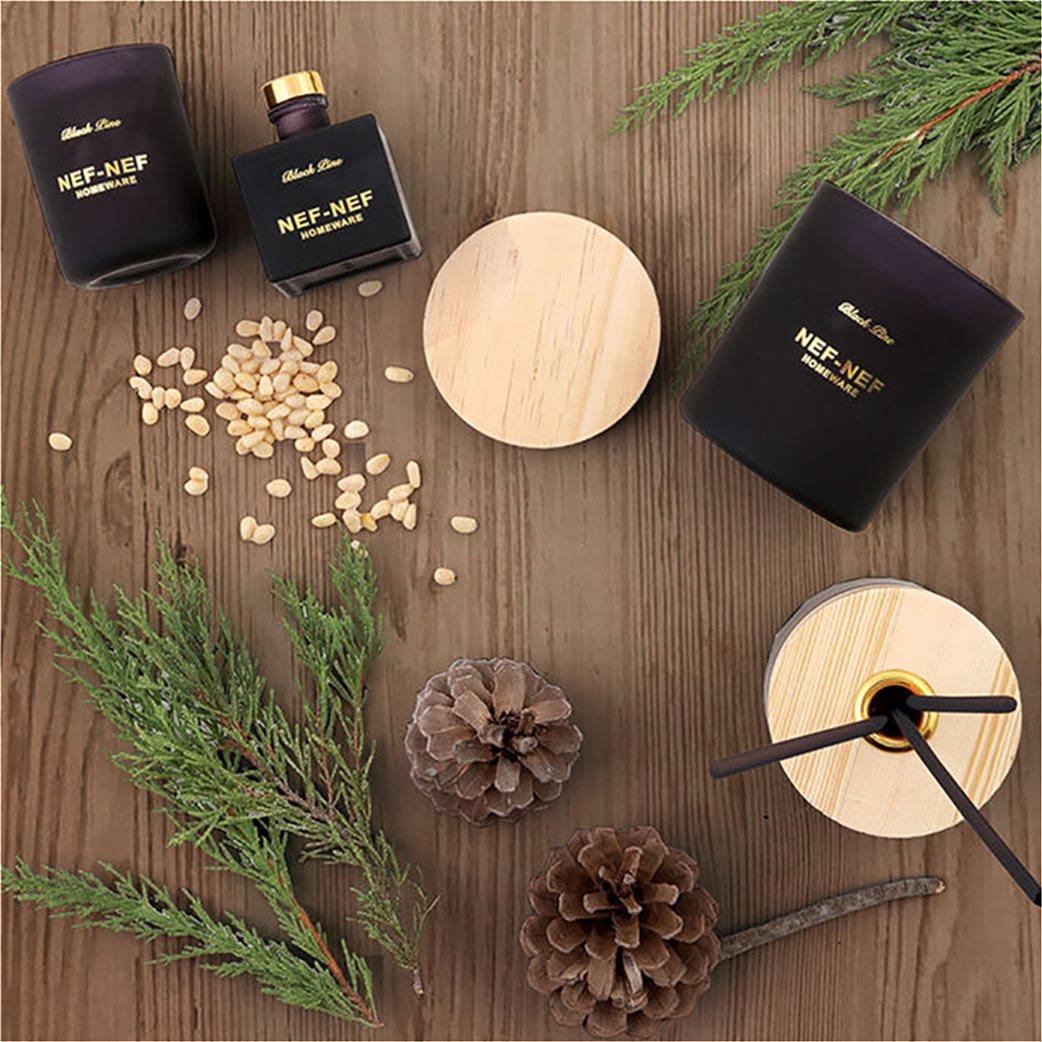NEF-NEF Αρωματικό set χώρου (κερί και στικς) Black Pine   2