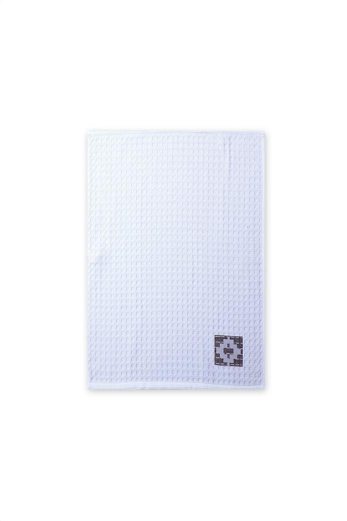 "NEF-NEF ποτηρόπανο πικέ ""Perez"" 45 x 68 cm Λευκό 0"