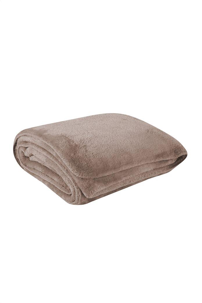 NEF-NEF κουβέρτα μονή με γούνινη υφή ''Nasty'' 160 x 220 cm 0