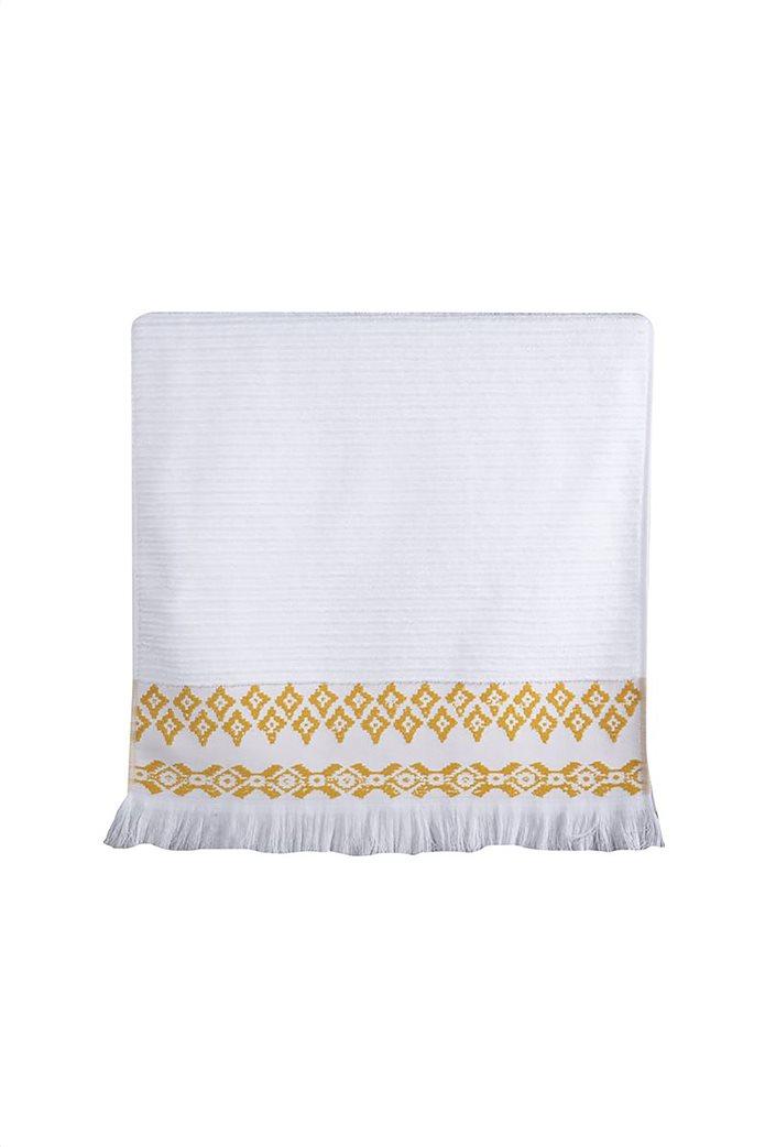 "NEF-NEF πετσέτα χεριών με jacquard σχέδια και κρόσσια ""Arabi"" 30 x 50 cm 0"