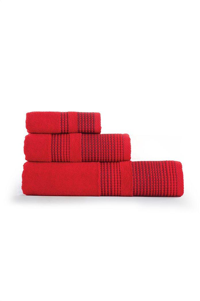 """NEF-NEF πετσέτα χεριών με κεντημένη φάσα """"Keneth"""" 30 x 50 cm 1"""