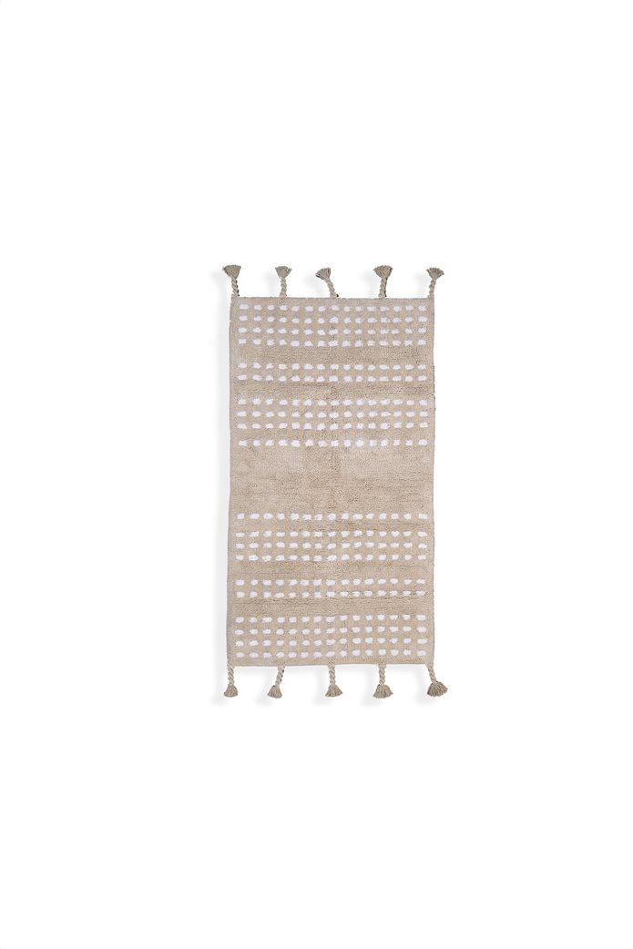 "NEF-NEF χαλί με γεωμετρικά σχέδια και πλεξούδες ""Keneth"" 70 x 140 cm 0"