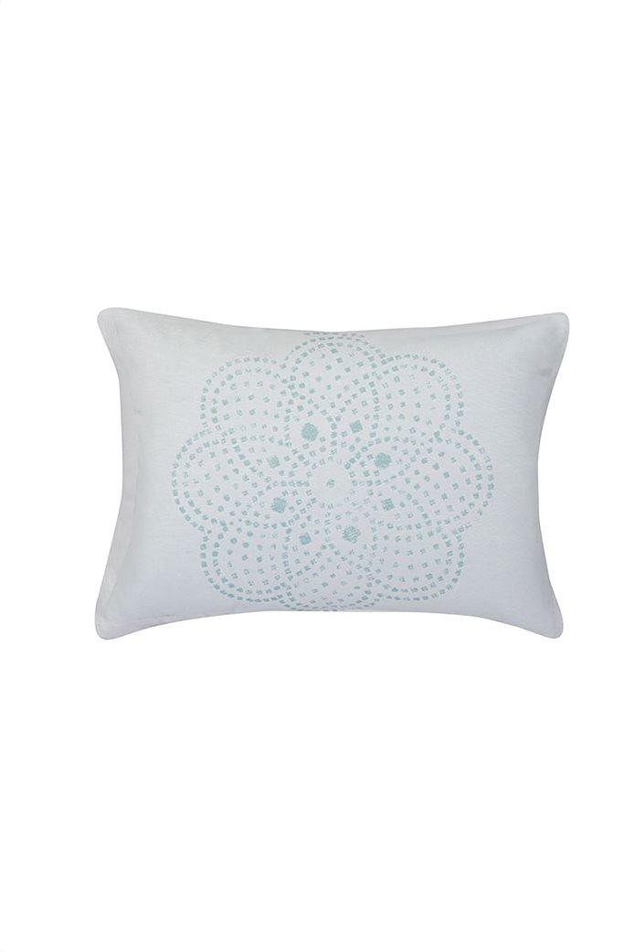 """NEF-NEF διακοσμητικό μαξιλάρι με floral print """"Restless"""" 40 x 55 cm 0"""