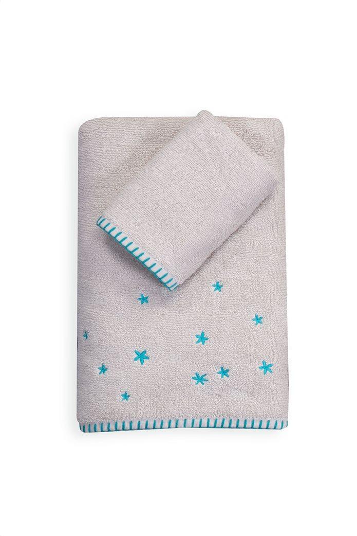 NEF-NEF σετ βρεφικές πετσέτες με κεντημένες λεπτομέρειες ''Coloud dream'' (2 τεμάχια) 0