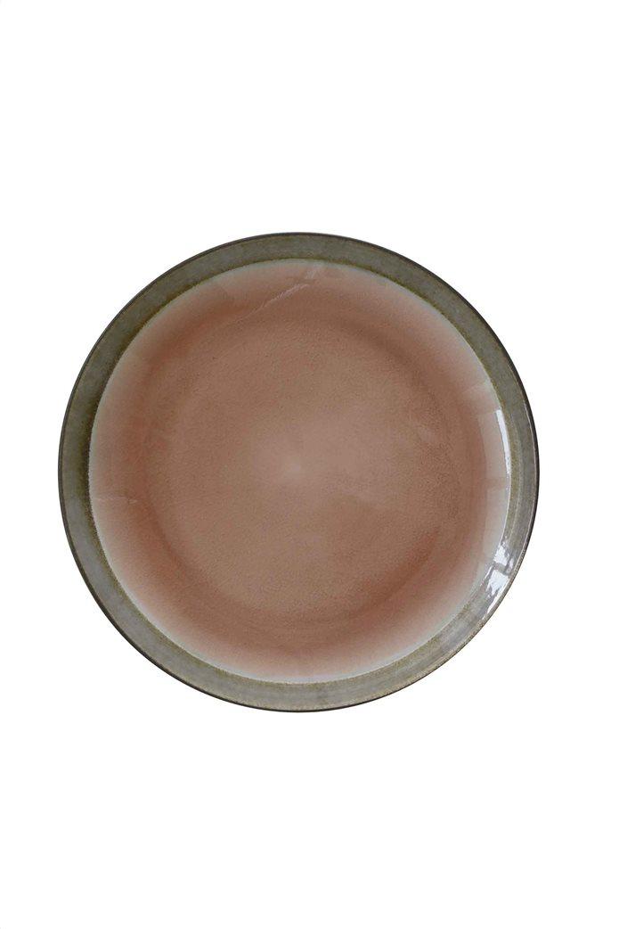 Marva πιάτο φαγητού κεραμικό με τεχνική κρακελέ 26.5 cm 0